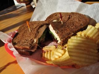 Sandwiches at Sunflowers