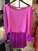 Purple and pink dress from Apricot Lane
