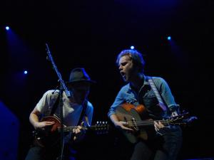 The Lumineers opened for Dave Matthews Band.