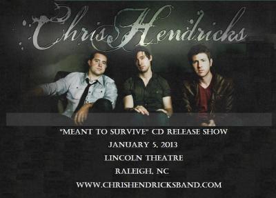 Chris Hendricks Band CD Release Party