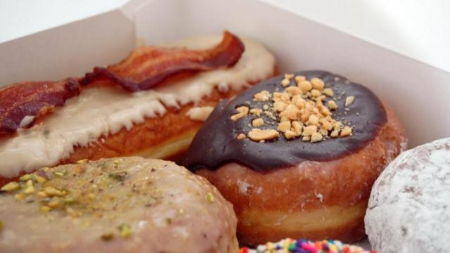 A look at the doughnuts at Rise in Durham.