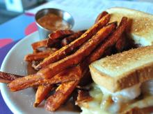 Sweet potato fries from NOFO