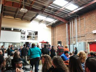 Fullsteam Brewery introduced its Cackalacky Ginger Pale Ale on Sunday, Jan. 27, with a kazoo-themed launch party.