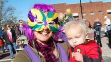 IMAGES: Wake Forest Mardi Gras Festival