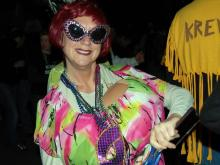 Hundreds celebrated Mardi Gras in Durham with a parade and music on Feb. 12, 2013.