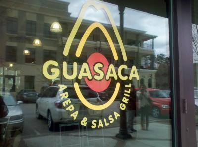 Guasaca Guasaca Arepa & Salsa Grill.