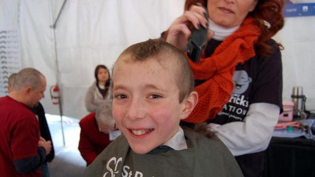 Napper Tandy's hosted its annual St. Baldrick's head shaving event on March 2, 2013.