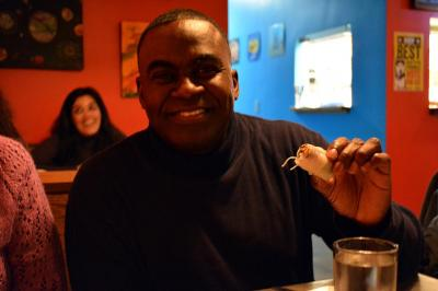 WRAL's Ken Smith tried out the at spring rolls at The Fiction Kitchen.