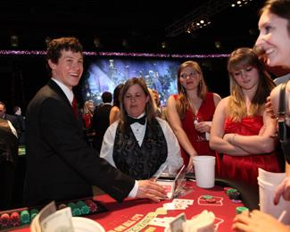 Join us for the 8th Annual Casino Night and Wine Tasting presented by PNC, the signature fundraiser for the Kids 'N Community Foundation, on Friday, March 22. Picture from http://hurricanes.nhl.com/club/page.htm?id=75963.
