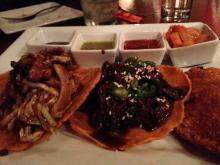 Tacos at Lucha Tigre