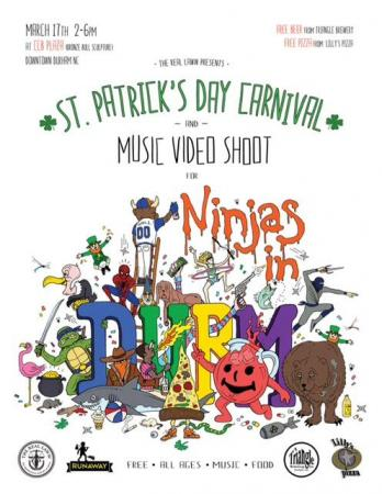 St. Patrick's Day Carnival & Music Video Shoot