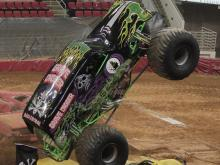 Thousands were on hand Friday, March 16, 2013 for Monster Jam festivities at Raleigh's PNC Arena.