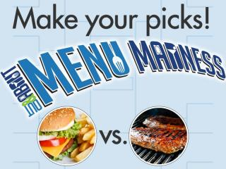 Out and About Menu Madness