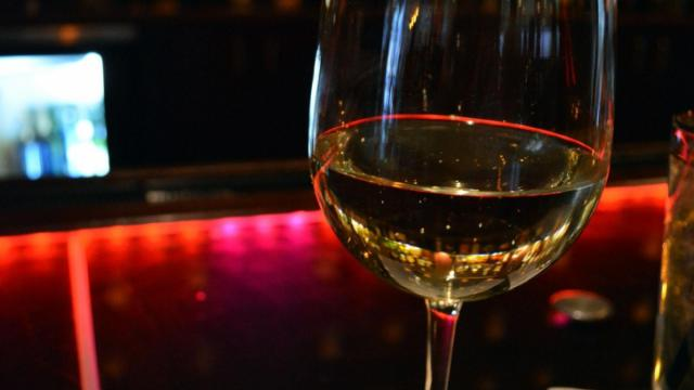 """The first wine we sampled - the 2011 Childress """"Trio"""" White Blend."""