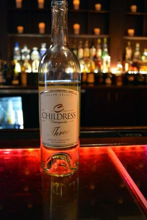 "The first wine we sampled - the 2011 Childress ""Trio"" White Blend."