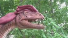 New dinos visit NC Zoo