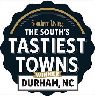 Durham wins Southern Living's Tastiest Town of the South Contest