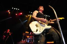 The Goo Goo Dolls perform at the John W. Pope Convocation Center on the campus of Campbell University on Wednesday April 17, 2013.