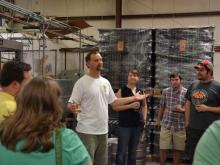 A look at the Carolina Brewing tour. (Photo by the NC Beer Guys)