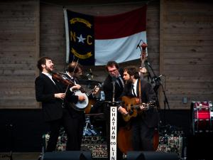 Chatham County Line performs at Band Together, which was held at Koka Booth Amphitheater on May 4, 2013. Photo by John West