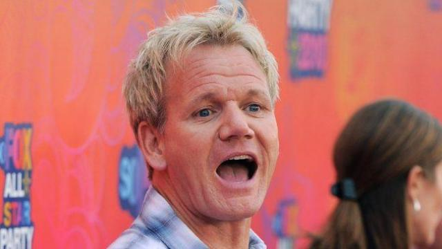 "Foul-mouthed TV chef Gordon Ramsay calls Prince William a ""bastard"" on The Tonight Show with Jay Leno. (AP Photo/Chris Pizzello)"