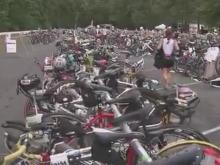 Inaugrual Ironman event takes over Raleigh