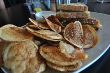 The house chips at OC Bar and Grill.