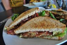 The BLT at the OC Bar and Grill