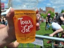 New Belgium Brewing's Tour de Fat stopped by Durham Saturday, June 15, 2013. The event celebrated bikes and beer in a fun, carnival-esque environment.