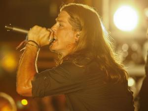 Jason Michael Carroll performed live at Norris Creek Saturday for the Carolina Country Jam in Louisburg (photo by Wes Hight).