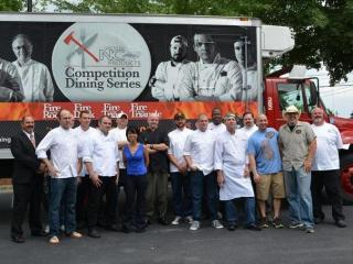 16 Triangle-area chefs were chosen to compete in Fire in the Triangle.
