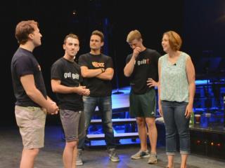 "Getting to know the ""Altar Boyz."""