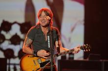 Keith Urban, Little Big Town and Dustin Lynch performed at Time Warner Cable Music Pavilion at Walnut Creek Friday night July 26, 2013 in Raleigh, NC. (Photo by Jack Tarr)