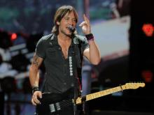 Keith Urban played Time Warner Cable Music Pavilion in Raleigh July 26, 2013.