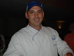 Chef Dean Thompson of Flights (Image from Competition Dining)