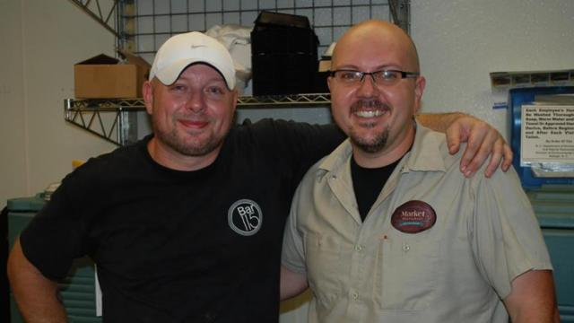 Midtown Grille's Scott James and Chad McIntyre from Market. (Image from Competition Dining)