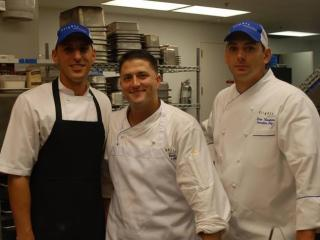 Team Flights Matt Thompson, Anthony Zinani and Dean Thompson (Image from Competition Dining)