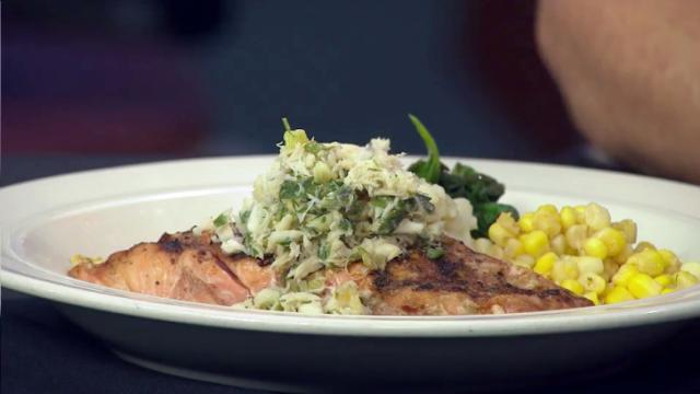 Mo's Diner dish for Raleigh Restaurant Week