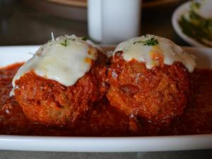 Meatballs at Jimmy V's.