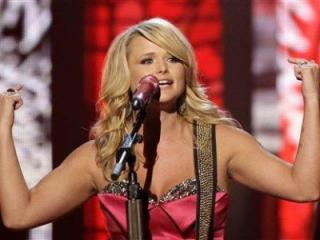 Miranda Lambert performs at the 46th Annual Academy of Country Music Awards in Las Vegas on Sunday, April 3, 2011. (AP Photo/Julie Jacobson)