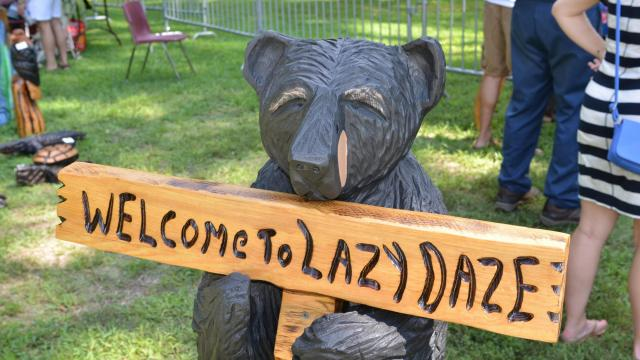 37th Annual Lazy Daze Arts & Crafts Festival in Cary, NC on August 24, 2013.