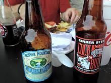 Sodas at Corbett's Burgers