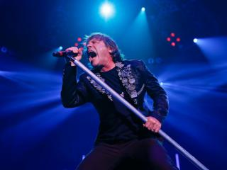 Iron Maiden begins their Maiden America 2013 Tour in Raleigh N.C. at Walnut Creek Amphitheater on September 3, 2013. Photo by CHRIS BAIRD