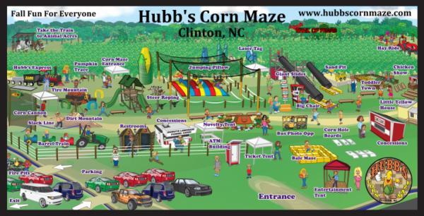 Hubb's Corn Maze