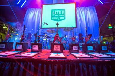 September 22, 2013. Durham, NC. The 2013 Triangle Corporate Battle of the Bands takes place at the American Tobacco Historic District. This year's event benefits the East Durham Children's Initiative.