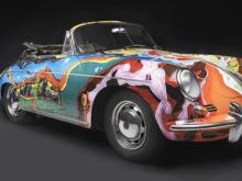 Porsche Type 356C Cabriolet, 1965, Collection of the Joplin Family, Courtesy of the Rock and Roll Hall of Fame and Museum, Cleveland, Ohio, Photograph © 2013 Peter Harholdt (Picture from North Carolina Museum of Art Facebook, https://www.facebook.com/photo.php?fbid=10153313463690045&set=pb.56392430044.-2207520000.1379953233.&type=3&theater)