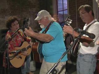 Bluegrass jam session at Busy Bee Cafe
