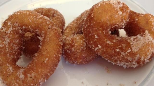 Sola's pumpkin mini donuts