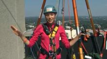 IMAGES: Kelcey Carlson goes 'Over the Edge' for Special Olympics