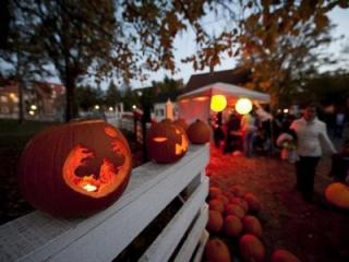 Halloween in Old Salem (Image from Visit Winston Salem)